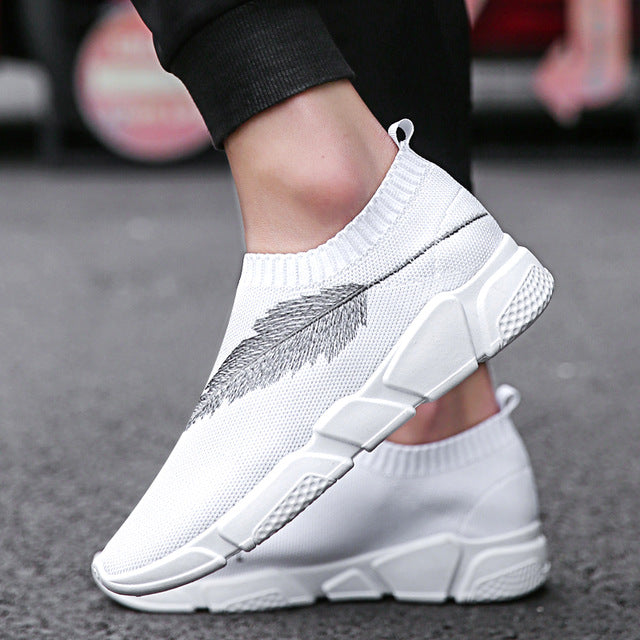 Beathable Mesh Male Casual Shoes