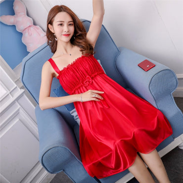 Women nightgowns Satin Lace