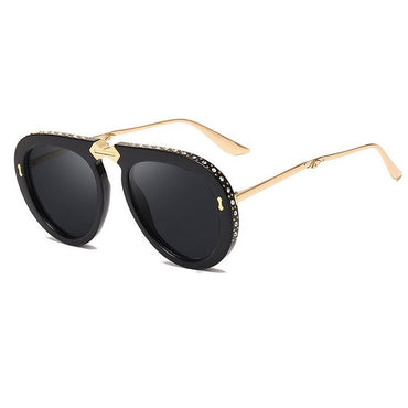New Women Foldable Frame Pilot Sunglasses for Women