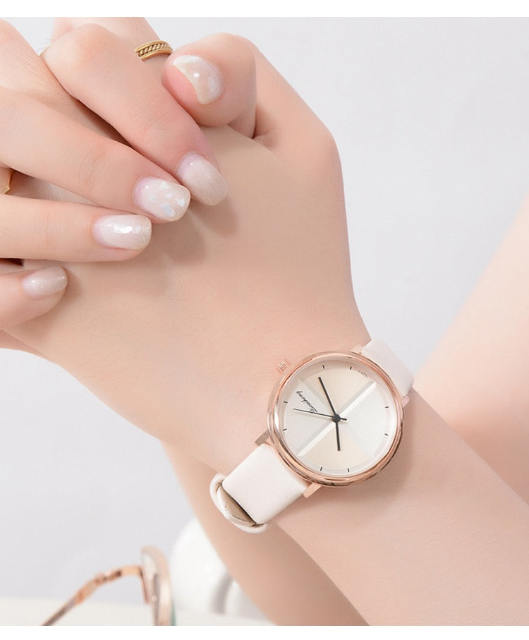 Simple Style Elegant Women Bracelet Watch
