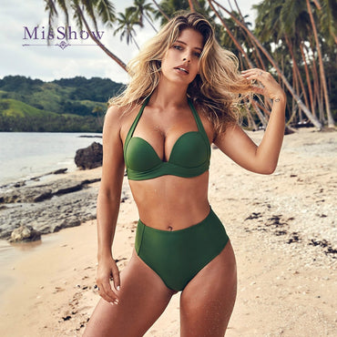 Bikini Push Up Two Piece Swimsuit High Waist
