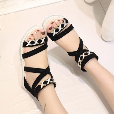 Women Shoes Flat Shoes Soft Leather Sandals