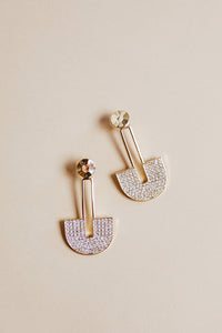 golden hour earring | gold