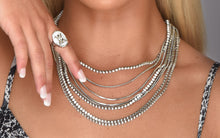 Load image into Gallery viewer, gemma layered necklace | silver