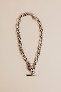 classic chain necklace | silver