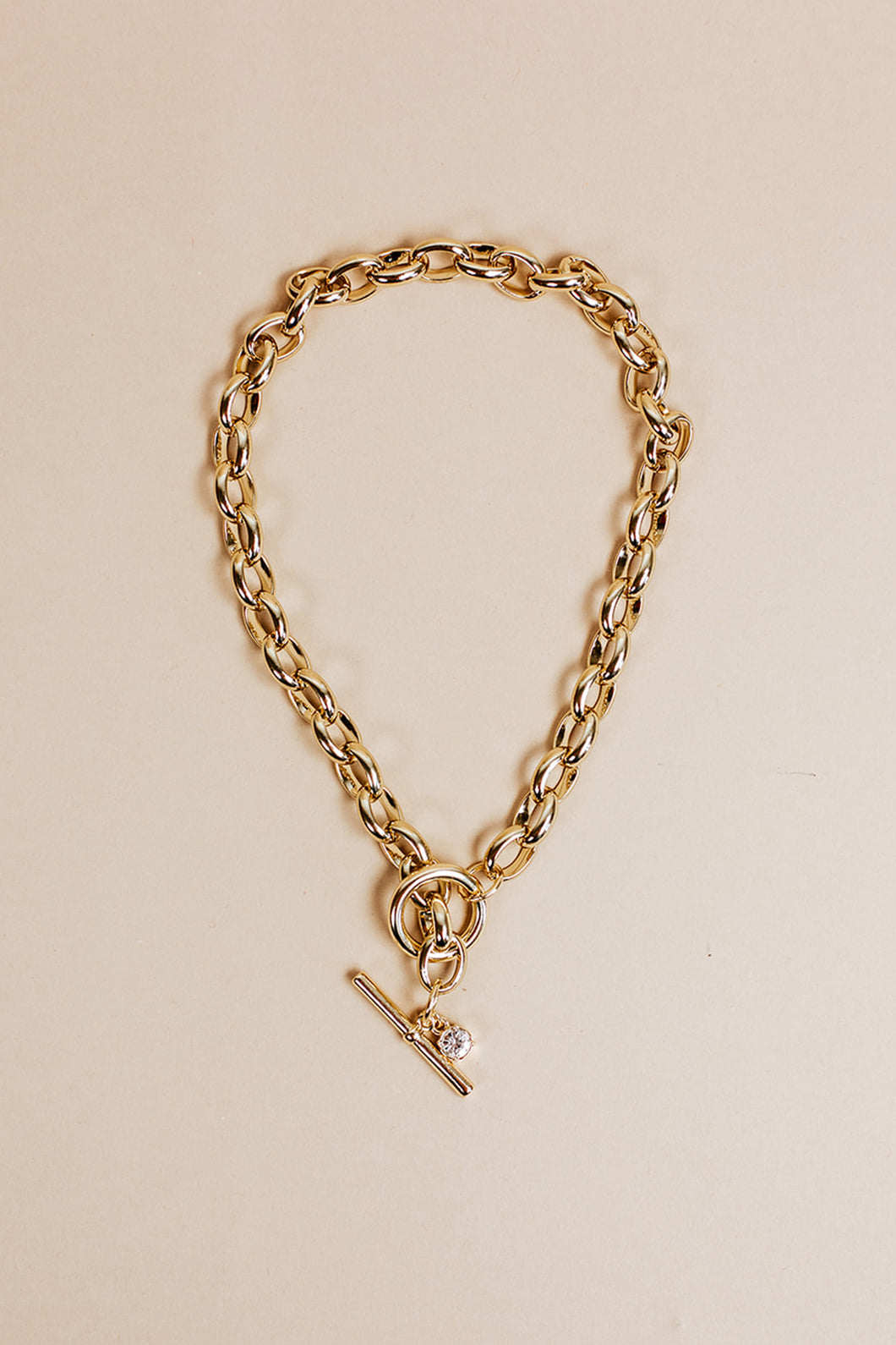 classic chain necklace | gold