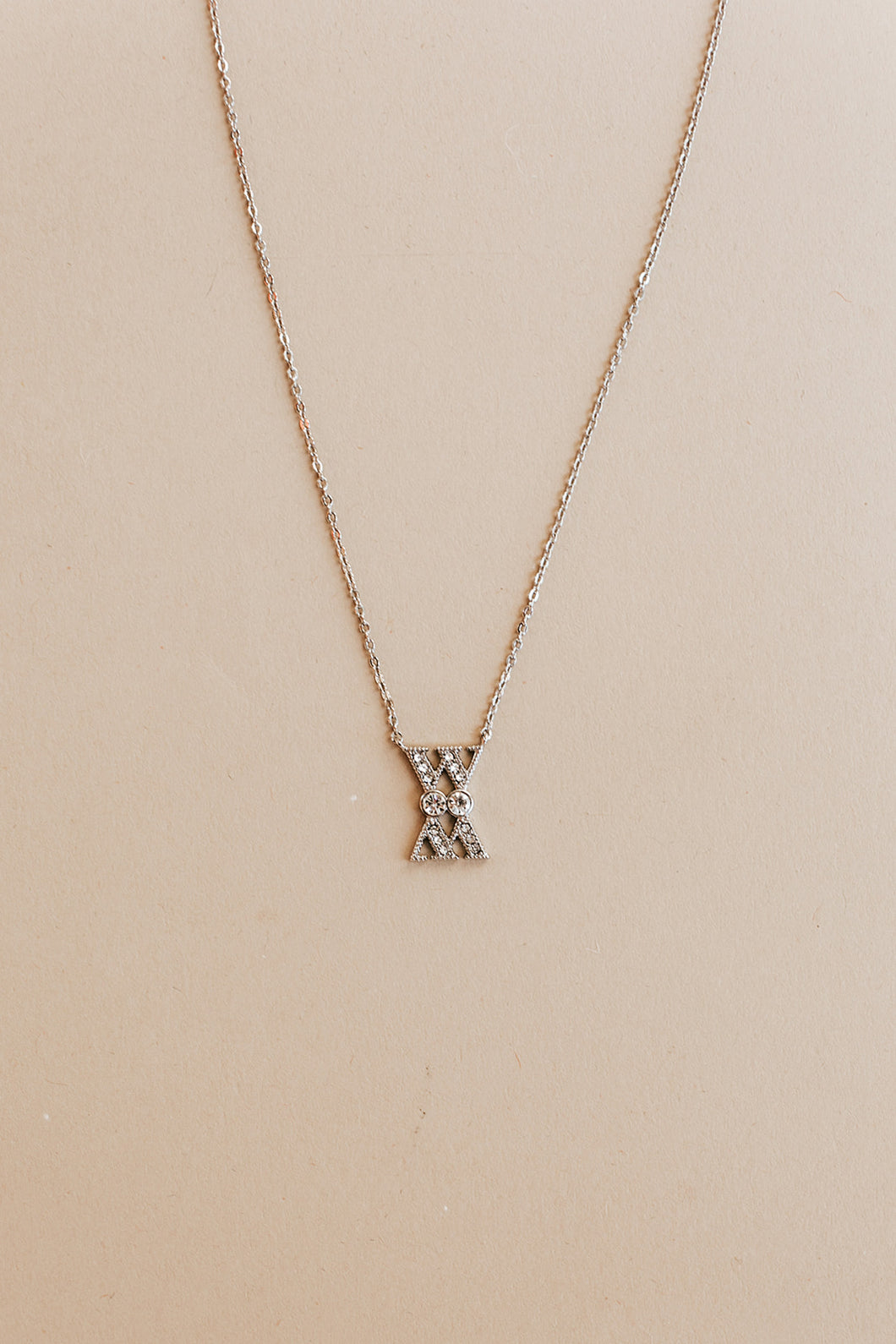 WM necklace | silver