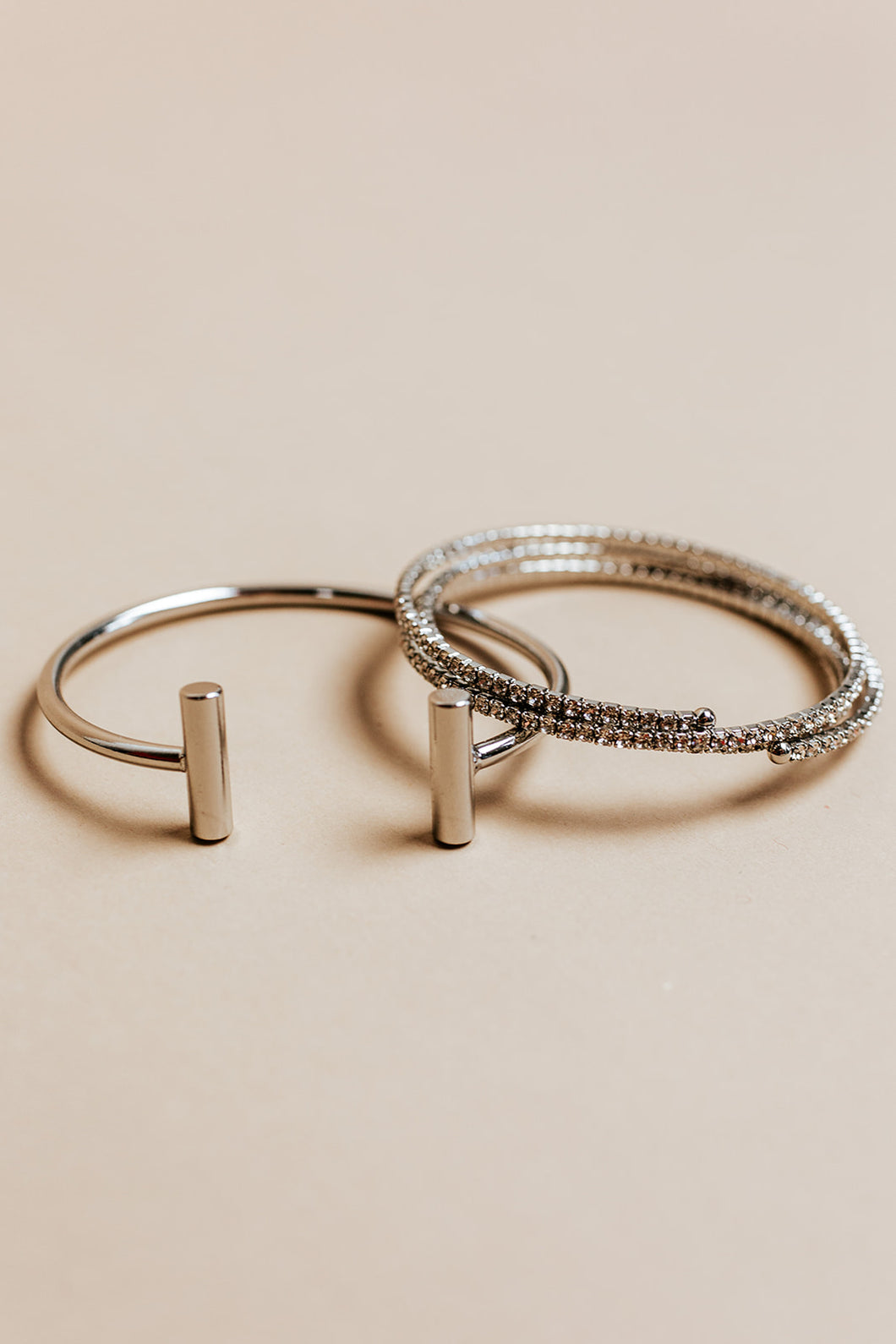 so icy stackables | silver