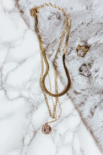 Load image into Gallery viewer, trio necklace | gold
