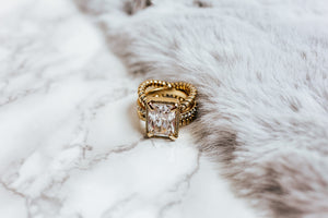 boujee ring | gold