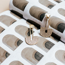 Load image into Gallery viewer, golden hour earring | silver