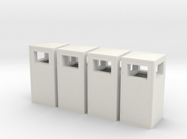 1:32nd Trash bins for dioramas