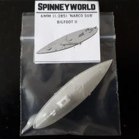 6mm (1:285) 'Narco sub' Bigfoot II