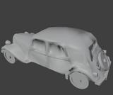6mm (1:285) Civilian Car Pack 3 - Traction Avant