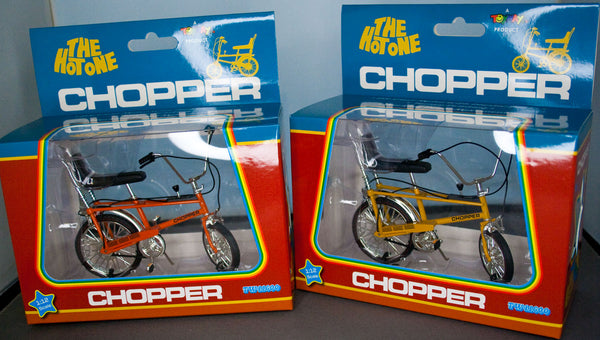 Toyway 1:12 Raleigh Chopper Mk1 Bicycle 'The Hot One'