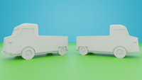 6mm (1:285) Civilian Car Pack 5 - Type H Pickup