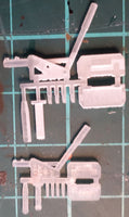 1:24th and 1:32nd scale versions side by side on my modelling table.