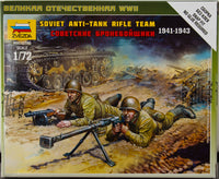 Zvezda 1:72/20mm Soviet Anti-Tank Team