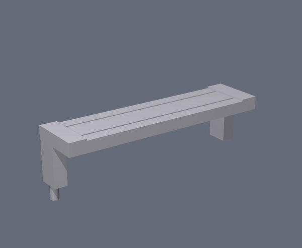 1:76th cantilever benches