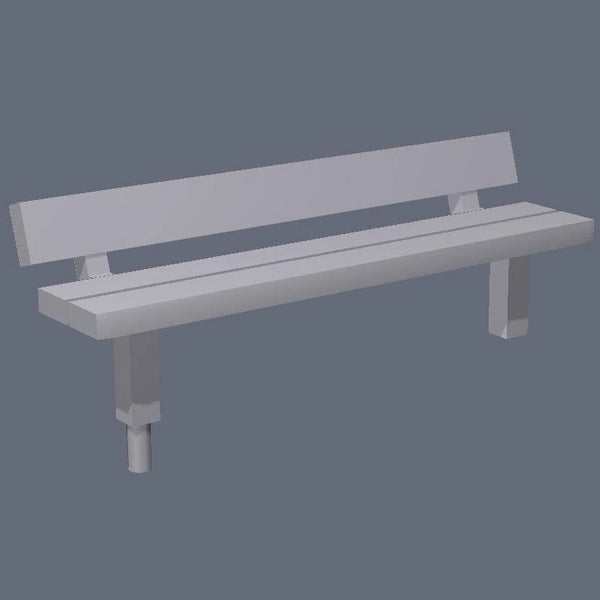 1:76th park benches