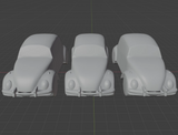 6mm (1:285) Civilian Car Pack 1 - Beetles