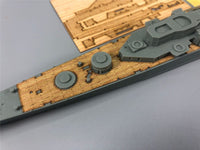 TMW 1/700 Wooden Deck Masking Sheet for Orange Hobby N07-155 USS Boston CAG-1 Ship Model