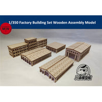1/350 TMW Factory Building Set For Harbor & Shipyard Dioramas