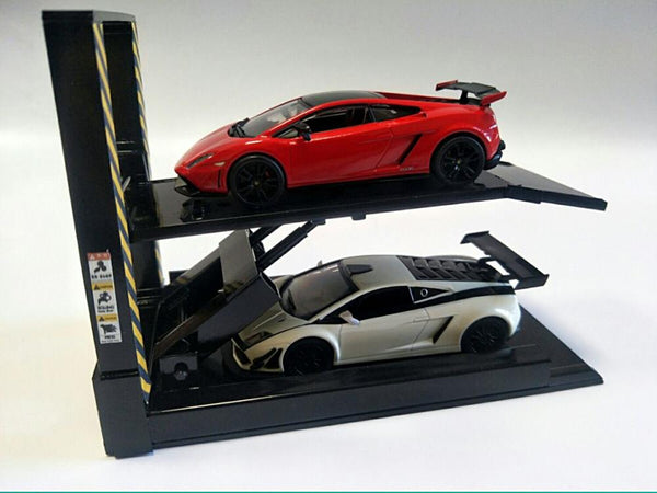Two Level Car Lift - 1/64, 1/43, 1/24, or 1/18