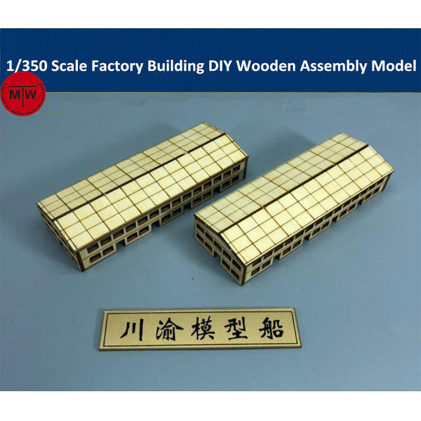 1/350 TMW Factory Buildings