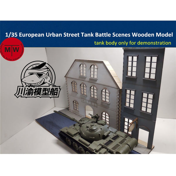 1/35 TMW European Urban Street Diorama Base
