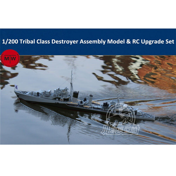 ChuanYu 1/200 Tribal Class Destroyer RC Ready Ship Model TMW00093