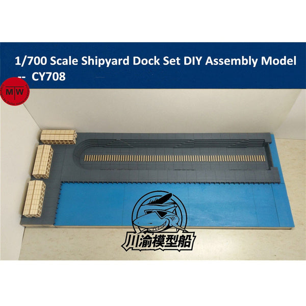 1/700 TMW Shipyard Dock Diorama laser Cut Wood Kit