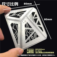 SF Gundam Angle Measurement Scribing Template And Ruler - 4in1