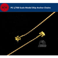 1/700 TMW Photo Etched Warship Anchor Chains 2pcs/set