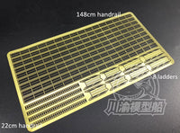 TMW 1/200 Photo-Etched Handrails & Ladders for Model Ships
