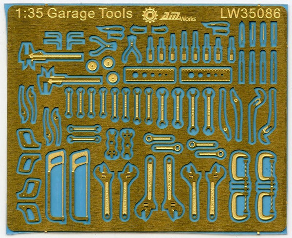 AMW 1:35 Scale Mechanic's Tools For Dioramas and Detailing