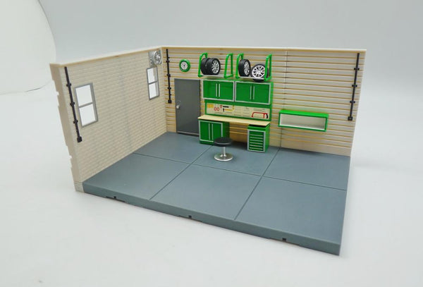 1:43 Garage Diorama Display Base