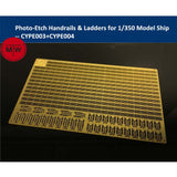 TMW 1/350 Photo-Etched Handrails & Ladders for Model Ship Kits (2pcs/set)