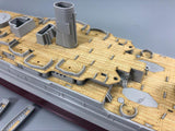 TMW 1/350 Wooden Deck for HobbyBoss 86501 USS Arizona BB-39 1941 Ship Model