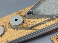 TMW 1:350 Wooden Deck for Trumpeter 05312 HMS Repulse 1941 Battleship Model