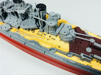 TMW 1/700 Wooden Deck for FUJIMI 46018 IJN Battleship Kongo Model