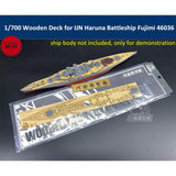 TMW 1/700 Wooden Deck for Fujimi 46036 IJN Haruna Battleship Model