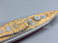 TMW 1/700 Wooden Deck for Trumpeter 05769 USS Maryland BB-46 1941 Ship Model