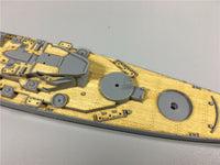 TMW 1/700 Wooden Deck for Tamiya 31616 US BB-61 Iowa Ship Model