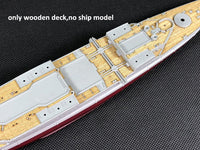TMW 1/700 Wooden Deck for Trumpeter 05764 HMS Renown 1942 Ship Model