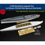 TMW 1/700 Lower Hull Upgrade for Flyhawk FH1310S HMS Agincourt Ship Model