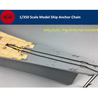 TMW 1/350 Ship Anchor Chain (Anchor not included)