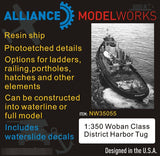 AMW 1/350 Resin Woban Class District Harbor Tug With Waterslide Decals