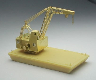AMW 1/700 USN YD-88 25 ton Floating Crane (Resin+Etch Model)