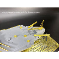 TMW 1/350 Upgrade & Detail Set for Tamiya 78030 Yamato Kit